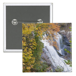 Bald River Falls 15 Cm Square Badge