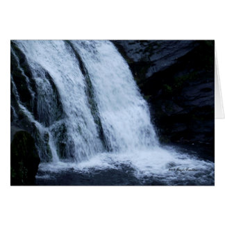 Bald River Falls in Tennessee Card