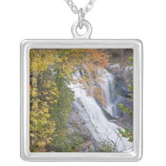 Bald River Falls Square Pendant Necklace