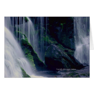 Bald River Falls, Tennessee Note Card