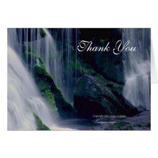 Bald River Falls Thank you notecard
