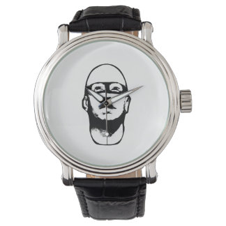 Baldhead Hero Illustration Watches