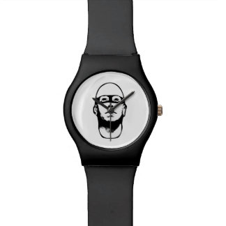 Baldhead Hero Illustration Wristwatch