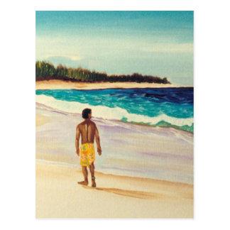 Baldwin Beach Paia Maui Postcard