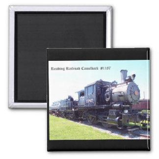 Baldwin Built Reading Railroad Camelback  #1187 Magnet