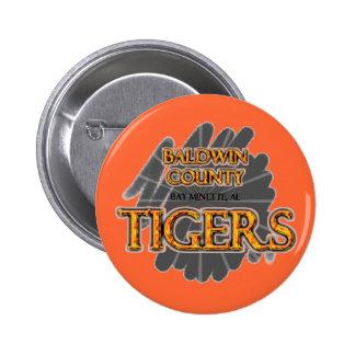 Baldwin County High School Tigers Bay Minette AL Buttons