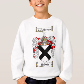 BALDWIN FAMILY CREST -  BALDWIN COAT OF ARMS SWEATSHIRT