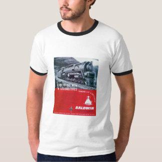 Baldwin Locomotive S-2 PRR Steam Turbine T-Shirts