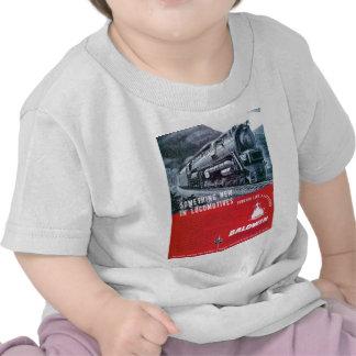 Baldwin Locomotive S-2 Steam Locomotive Baby Tee Shirts