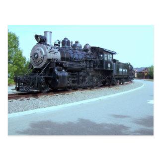 Baldwin Locomotive Works # 15 - Rahway Valley RR Postcard