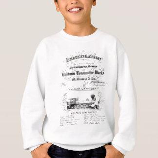 Baldwin Locomotive Works 1868 Sweatshirt