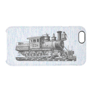 Baldwin Locomotive Works Camelback #415 Clear iPhone 6/6S Case