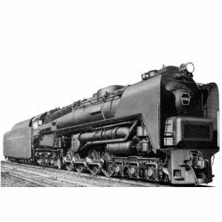 Baldwin Locomotive Works S-2 PRR Steam Turbine Photo Cutouts