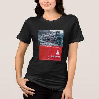 Baldwin Locomotive Works  S-2 PRR Steam Turbine T-Shirt