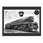 Baldwin-Pennsylvania Railroad T-1 Steam Locomotive