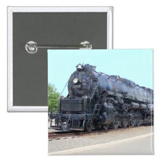 Baldwin- Reading Railroad Locomotive 2124 15 Cm Square Badge