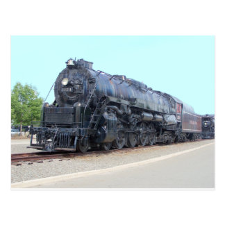 Baldwin- Reading Railroad Locomotive 2124 Postcard