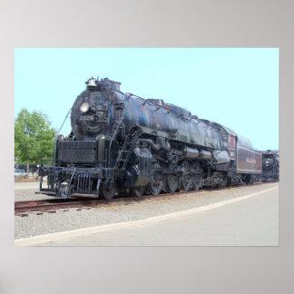 Baldwin- Reading Railroad Locomotive 2124 Poster