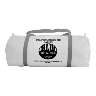 Baldwin Serves The Nation Gym Duffel Bag