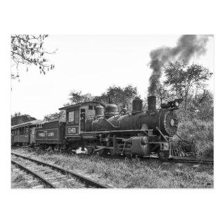 Baldwin steam locomotive 1431, Cuba Postcard