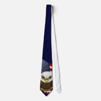 Baldwin The Cute Bald Eagle Tie