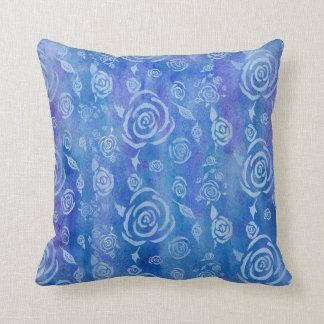 Bali Batik Blue Pillow