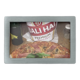 Bali beer and Pizza Belt Buckle