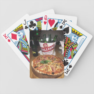 Bali beer and Pizza Bicycle Playing Cards