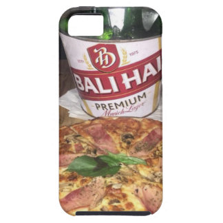 Bali beer and Pizza Tough iPhone 5 Case