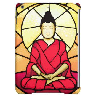 Bali buddha stain glass window