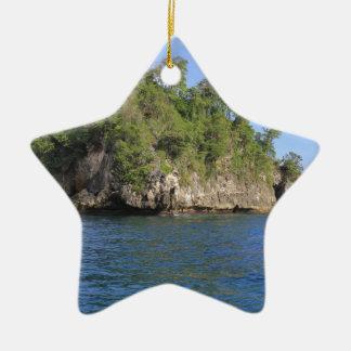 Bali Ceramic Star Decoration