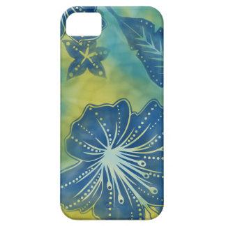 Bali Flower Batik Tropical  iPhone 5 Case