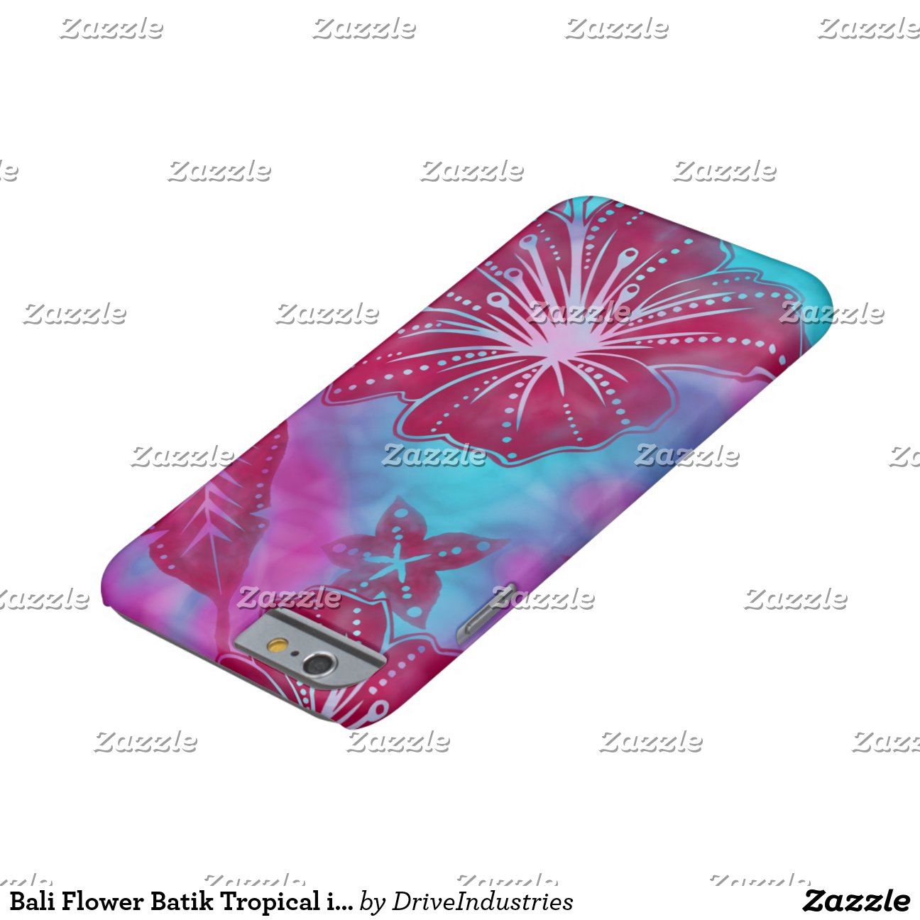 Bali Flower Batik Tropical iPhone 6 Case Barely There iPhone 6 Case ...
