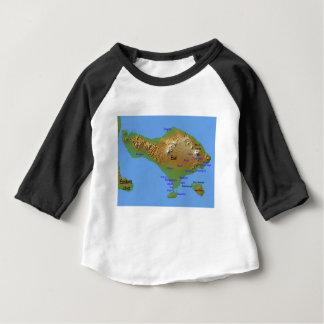 Bali Holliday Map Baby T-Shirt