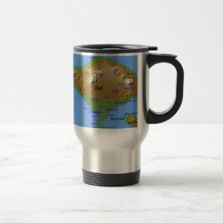 Bali Holliday Map Travel Mug
