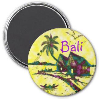 Bali Indonesia 7.5 Cm Round Magnet