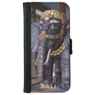 Bali Indonesia Elephant God iPhone 6 Wallet Case
