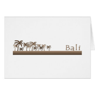 Bali, Indonesia Greeting Card