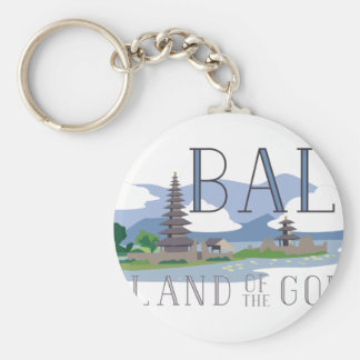 Bali Island Of Gods Key Ring