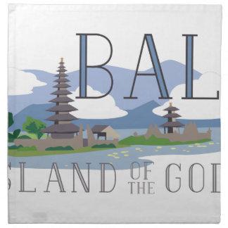 Bali Island Of Gods Napkin
