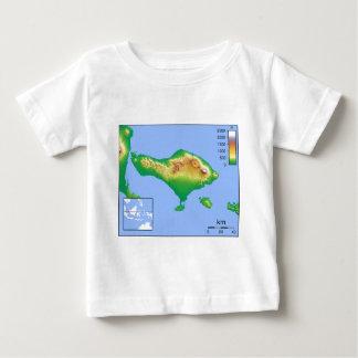 Bali Map Baby T-Shirt