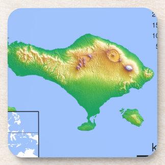 Bali Map Coaster