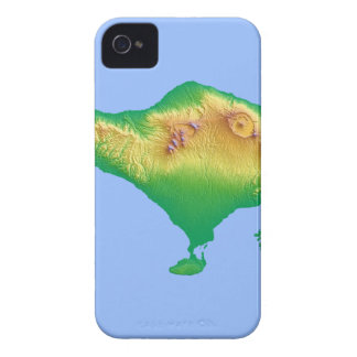 Bali Map iPhone 4 Cover