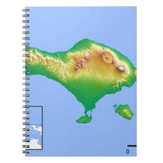 Bali Map Notebook