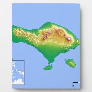 Bali Map Plaque