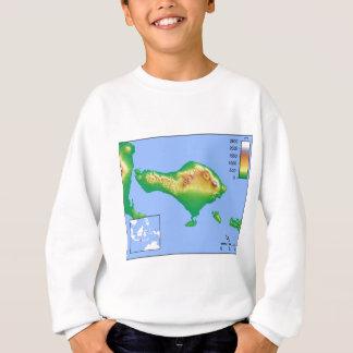 Bali Map Sweatshirt