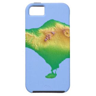 Bali Map Tough iPhone 5 Case