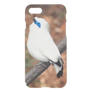 Bali Mynah Bird iPhone 7 Clearly Deflector Case