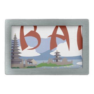 Bali Rectangular Belt Buckle