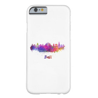 Bali skyline in watercolor barely there iPhone 6 case